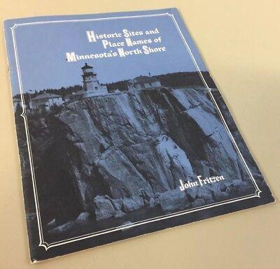 Historic Sites Place Names Minnesota North Shore John Fritzen 1974 Clean Book