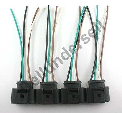 Audi Harness - 4 Ignition Coil Connector for Audi VW Harness Plug Wiring Repair Jetta Passat