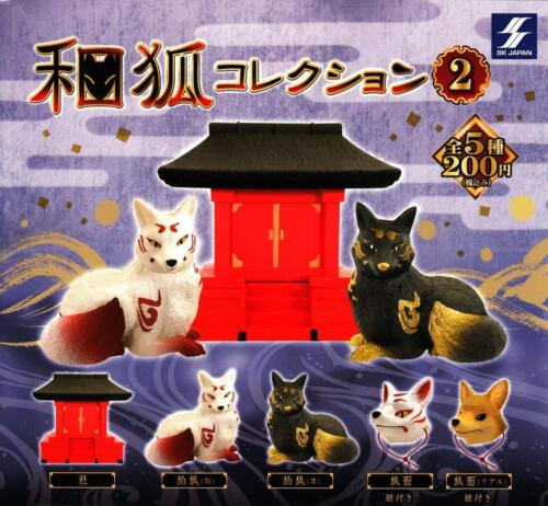Japanese Fox collection 2 SK Japan Capsule Toy 5 pcs Gashapon From Japan F/S