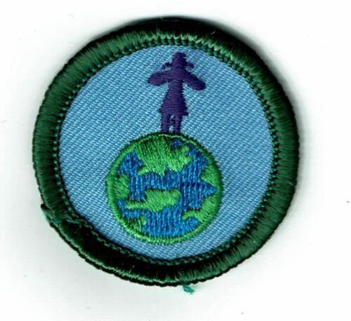 Retired Girl Scout Junior badge - High on Life