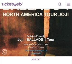 Joji Find Event Tickets To Sporting Events Concerts And Much More