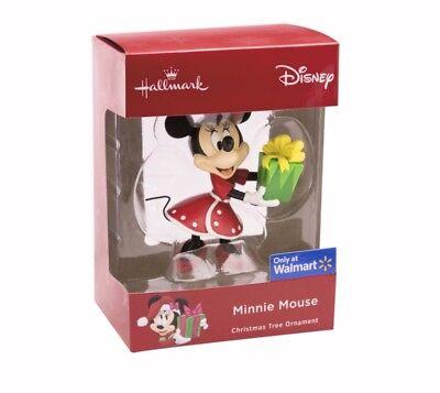 Hallmark Disney Minnie Mouse with Present Walmart Exclusive Ornament (Walmart Minnie Mouse)