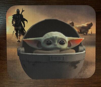 Baby Yoda Mousepad Star Wars Mandalorian The Child Mouse Pad Non-Slip 8.5