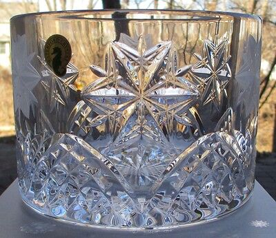 WATERFORD Crystal Snowflake Wishes Peace Wine Champagne Coaster Mint NEW in Box