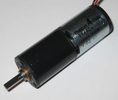 Maxon Gearhead Motor A-max - 160 Rpm 12 V Dc - 330 Rpm 24 Vdc - Low Current