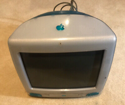 "Apple iMac G3 1999 Blueberry 15"" Monitor"