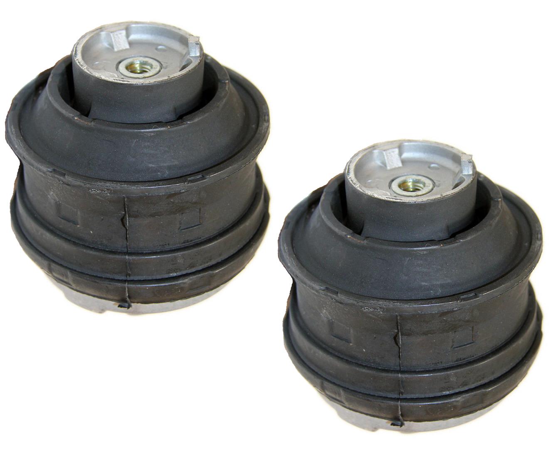 Semi-Met Brake Pads For 2008-2010 Volvo XC70 Rear eLine Plain Brake Rotors