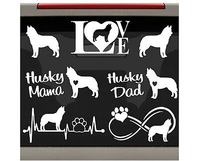 """Beware of Dog Owner Funny Warning Sign Stickers Set of 2 Decals 4/"""" wide WS424"""