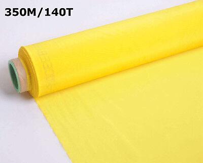 3 Yards 350m Screen Printing Mesh Yellow Screen Fabric Diy Fame Material 140t