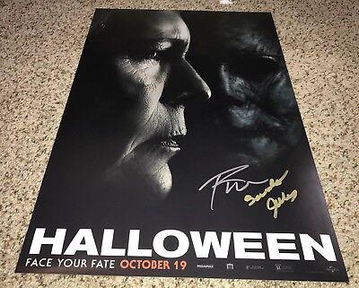 Turek Signed Halloween 2018 12x18 Photo Proof (Sandy Johnson Halloween)