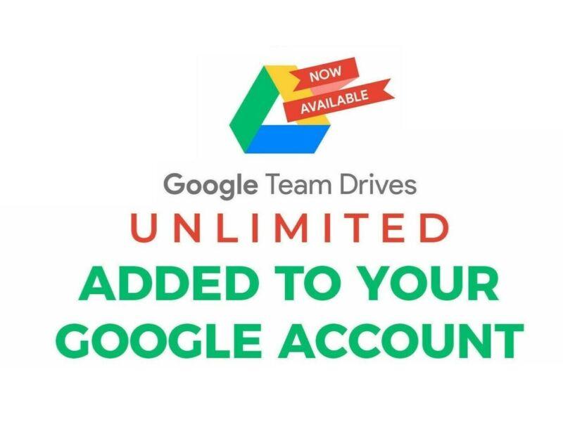 Gsuite/Google photos, Cloud, Google Drive unlimited, CUSTOM USERNAME + Lifetime