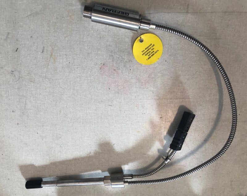 GEFRAN M32-8-m-P10M-1-4-D Melt Pressure Transducer; 6-12V-DC D570957