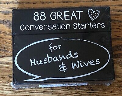 Christian Art Gifts Conversation Starters for Husbands & Wives New Free Shipping](Cvs Board Games)