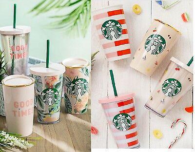 Starbucks Ban.do mug tumbler cold to go cup bag Pencil Pouch Notebook gift card