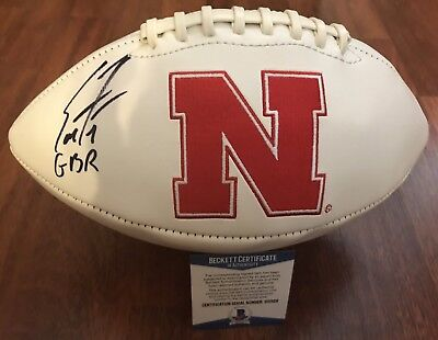 Football Evan Engram Autographed Ole Miss Rebels Logo Football Jsa W Authenticated Be Novel In Design