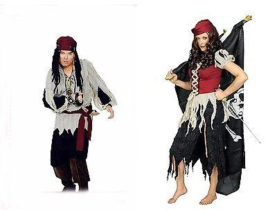 r Ghost Lumpen Damen Herren Kostüm Halloween Karneval NEU (Lumpen-kostüm)