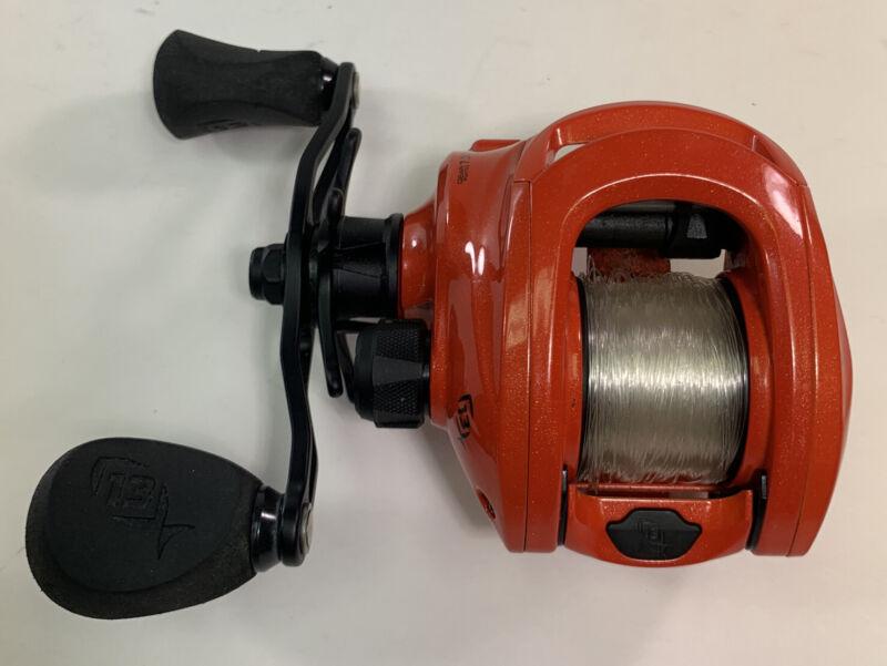 13 Fishing Concept Z Zero 7.3:1 Red Right Hand Retrieve Baitcaster Fishing Reel