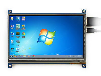 Waveshare 7inch Display Hdmi Lcd For Raspberry Pi 1024600 Ips Touch Screen