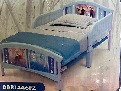 Frozen 2 Toddler Bed Anna Elsa Kristoff Sven Childrens Bedroom Furniture NIB
