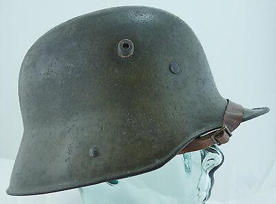 German ORIGINAL WWI WW1 M1916 Green Helmet With Liner