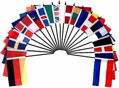 Northwest Europe World Desk Flag SET-20 Polyester 4