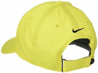 Nike Cap Yellow Lime Golf Running Sports Dri-Fit One Size Adults Polyester New
