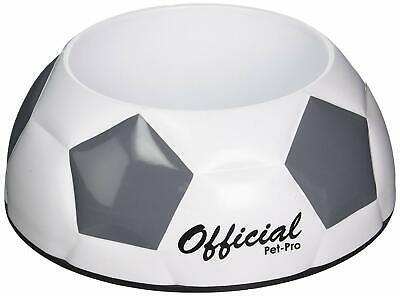 Pet Food/ Medium Water Bowl/Dish-Small Cat/Dog-Anti-skid BPA Free! Soccer Plate