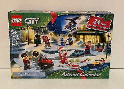 LEGO City Advent Calendar (60268) Building Toy 342 Pieces NEW! Sealed Box 2020