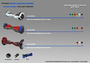 """Two wheel self balance smart scooter """" hoverboard """""""