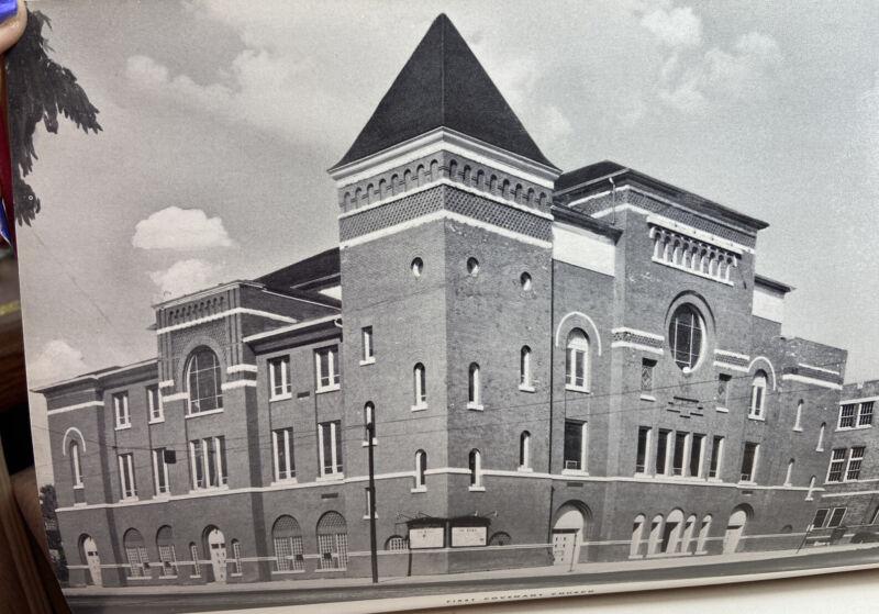 vtg book Precious Years Minneapolis Church Directory First Covenant 1949 jubilee