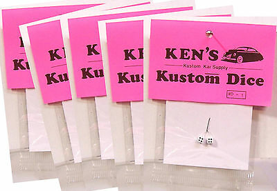 Ken's Kustom Dice Plastic Model Kit Diecast Vehicle Car 1/24 1/25 Accessory Part