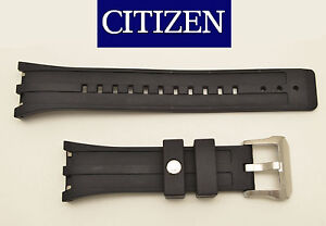 Citizen-Original-Watch-band-Rubber-BLACK-Strap-BJ2135-00E-BJ2145-06E-4-S065551F