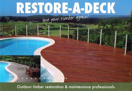 OUTDOOR TIMBER RESTORATION BUSINESS FOR SALE !