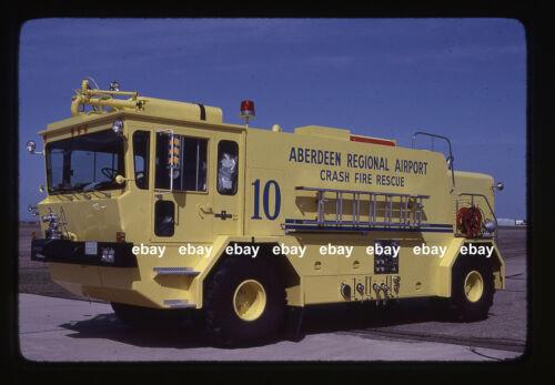 Aberdeen SD Airport Oshkosh T1500 CFR Fire Apparatus Slide