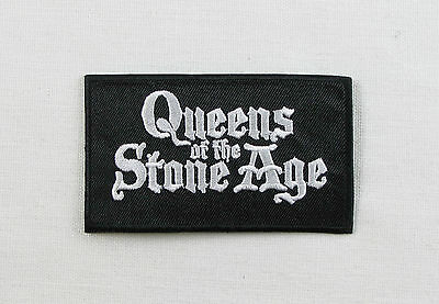 QUEENS OF THE STONE AGE  Embroidered Iron On Sew On Patch  Rock Band
