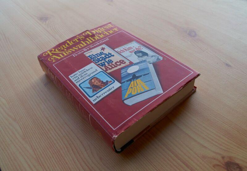 Reader's Digest Auswahlbücher - Kurzfassungen von vier Büchern