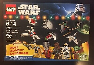 STAR WARS Lego Advent Calendar (7958) NEW Sealed in Box RETIRED Free Shipping!