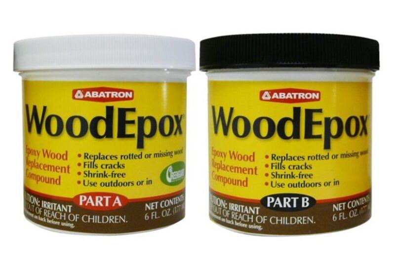Abatron WEAB6OR Woodepox Kit, 12 Oz