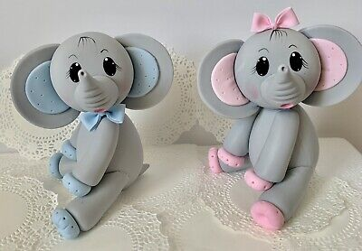 Elephant Cake Topper (Elephant  Cake Topper,Baby)