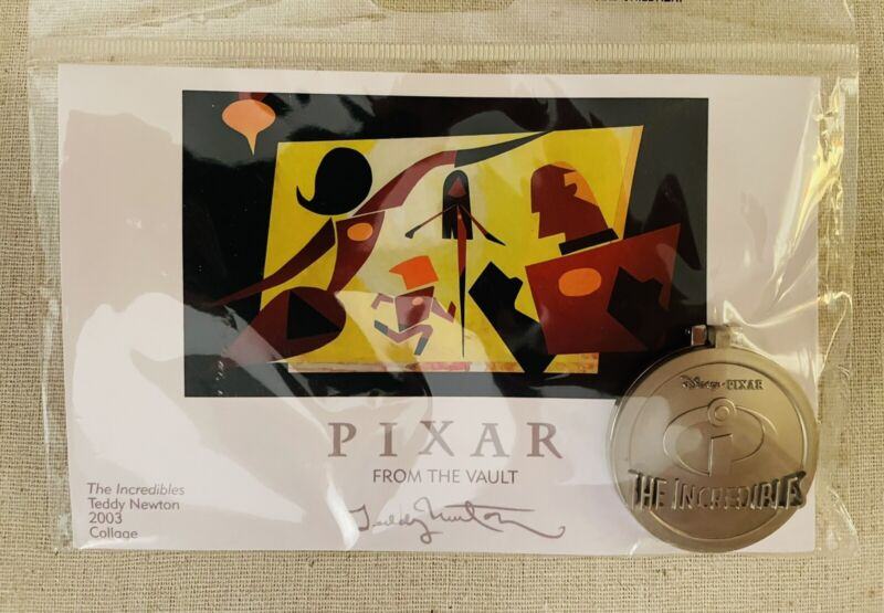 Disney Pixar From The Vault Exclusive The Incredibles Hinged Pin LE 750 SEALED