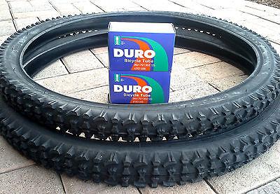 26x2 10 duro mountain bike tire set