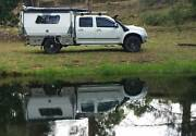 Extended wheel base holden Rodeo tray back ute Landsborough Caloundra Area Preview