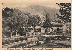 Aa-S-Giuliano-Terme-Parco-Pini-Canale-Demaniale-1958-FG-VF-x-s-pietro-verzolo