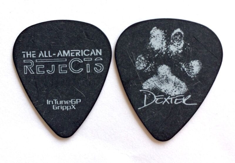 All American Rejects Guitar Pick Nick Wheeler