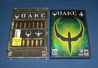 Ultimate Quake & Quake 4 ~ PC Game Lot ~ NM Discs! Quake 1 2 3 Arena Collection comprar usado  Enviando para Brazil