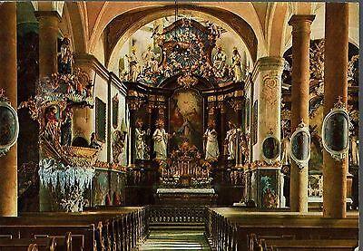 TRAUNKIRCHEN, AUSTRIA -  VINTAGE POSTCARD OF THE CHURCH