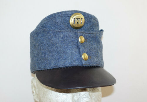 AUSTRIAN AUSTRO HUNGARIAN ARMY WW1 REPRO EARLY BLUEISH CAP HAT Sz62 (7 3/4)