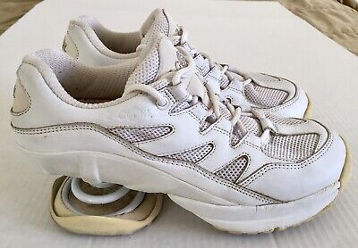 Z-CoiL Freedom White Pain Relief Comfort Orthotic Spring Walking Shoes Wmns Sz 8
