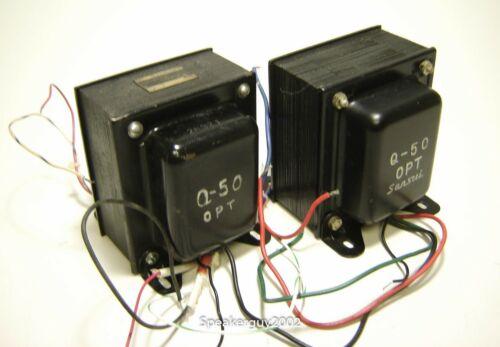 Pair of Sansui Q-50 Output Transformers -- RM