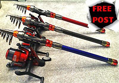 CARP ROD CARP FISHING ROD FRESHWATER ROD  inc REEL & LINE  / FREE UK POSTAGE